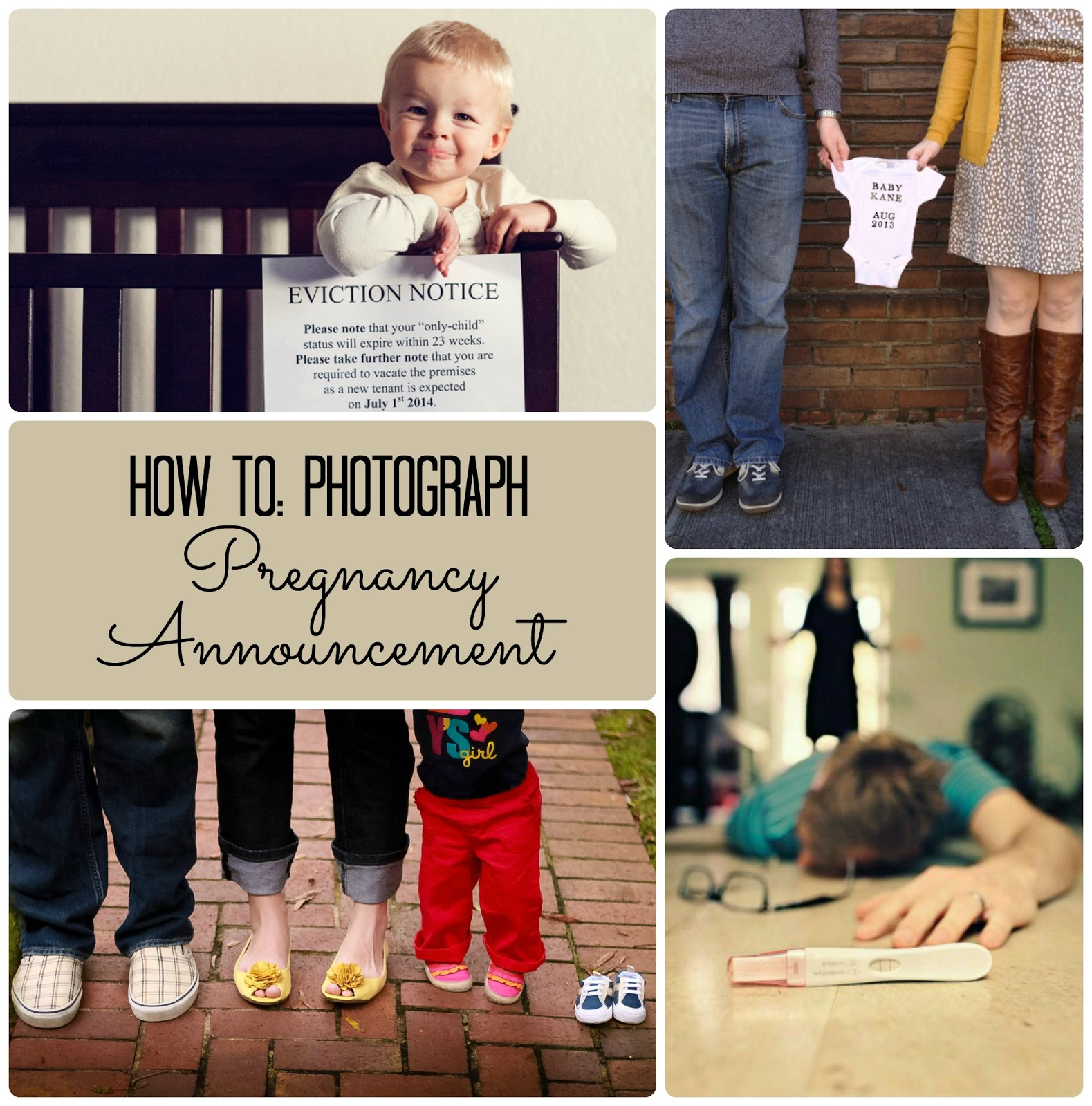 The Pieper Life Photographing Pregnancy Annoucement