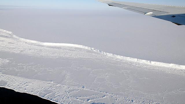 """Un iceberg dos veces más grande que Nueva York se va a desprender de la Antártida por """"un proceso natural"""""""