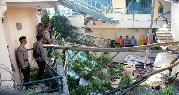 Pernyataan diberikan oleh korban yang selamat longsor Hotel Club Bali Cianjur