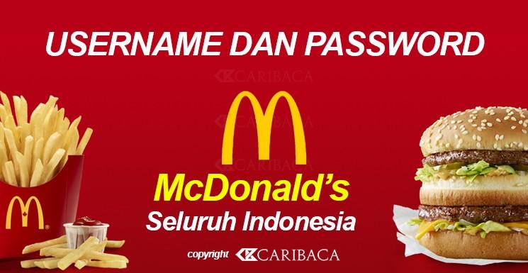 Cara Menggunakan Wifi MCDonalds di Indonesia