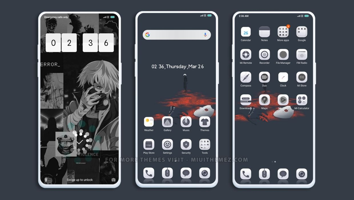 Tokyo Ghoul V11 MIUI Theme