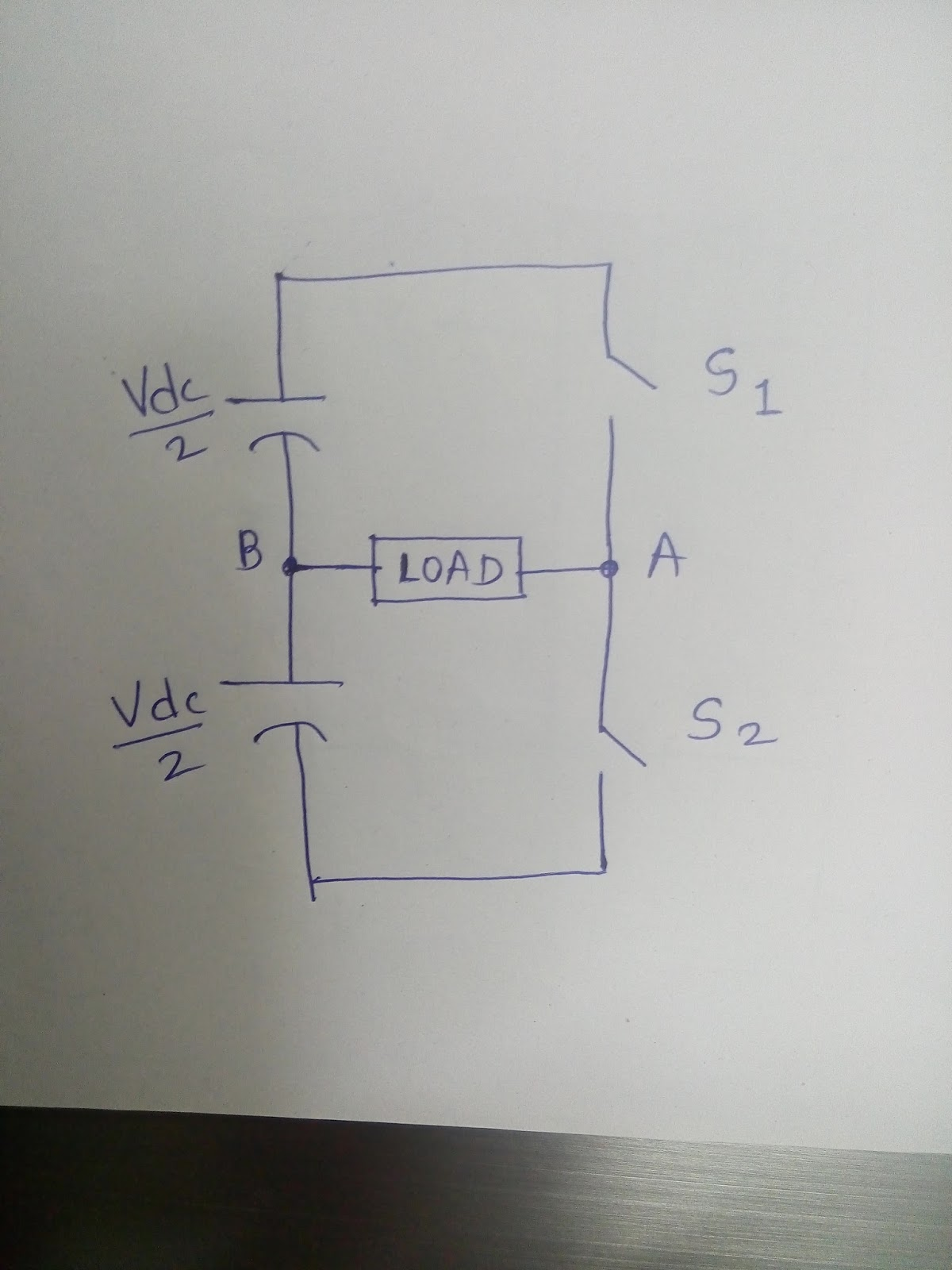 Electricity From Pacemakers To Windmills July 2016 H Bridge Inverter Circuit Diagram This Is Called Full Or Single Phase More Popularly It Known As Structure When We Turn On Switch S1 And S4
