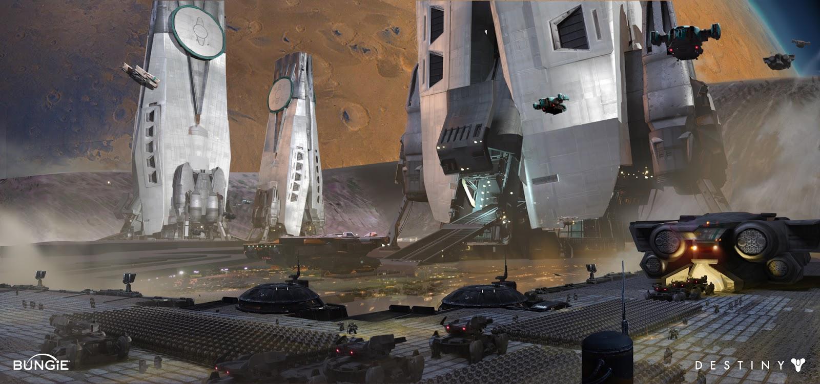 Dorje Destiny Cabal Base On Phobos