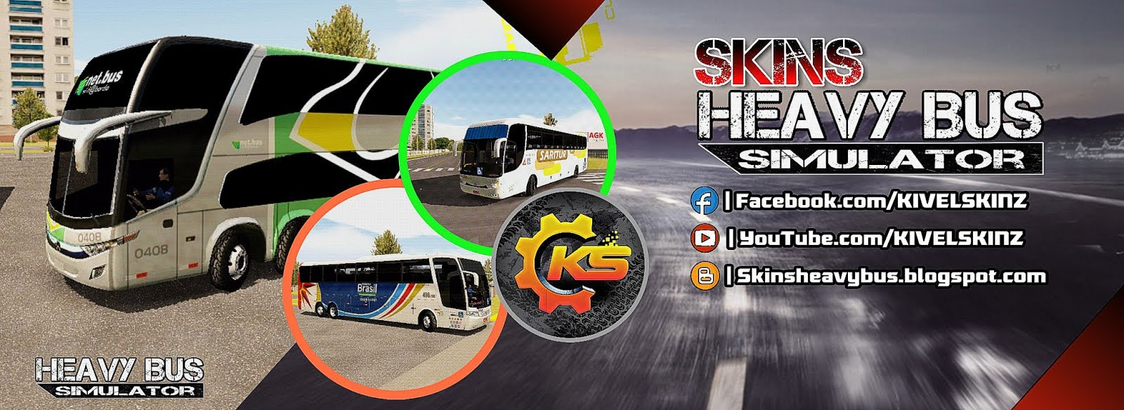 SKINS HEAVY BUS SIMULATOR