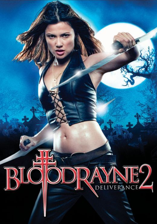 Natassia Malthe BloodRayne Movie Poster – Red Carpet