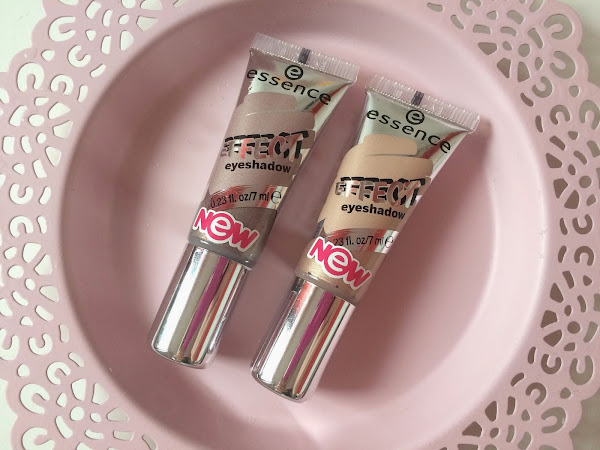essence - effect eyeshadow 02 & 06