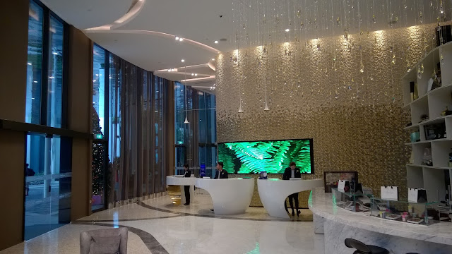 Novotel SIngapore on Stevens - hotel lobby