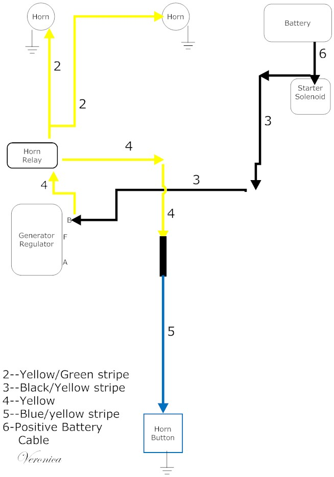 push button wire diagram