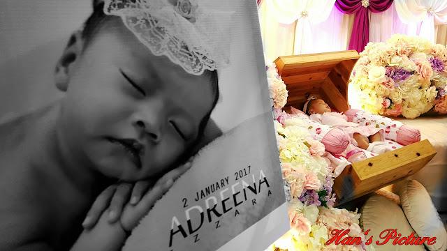Majlis Aqiqah Dan Cukur Jambul Puteri Adreena