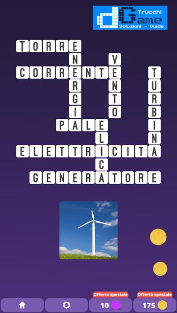 Soluzioni One Clue Crossword livello 2 schema 3  (Cruciverba illustrato)  | Parole e foto