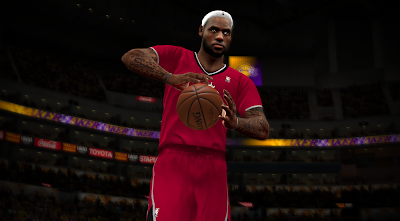 NBA 2K14 Christmas Sleeved Jerseys