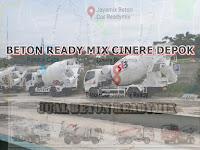 JUAL BETON READY MIX DI CINERE DEPOK PERKUBIK MURAH