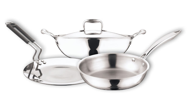 Vinod Cookware launches, Triple layered 'Platinum Series' suited best for both Home and Industrial Kitchens -Platinum Series