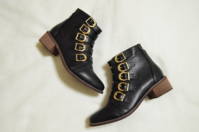 Zaful Black Ankle Boots