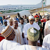 Photos: President Buhari arrives Daura, Katsina state for the Sallah holiday