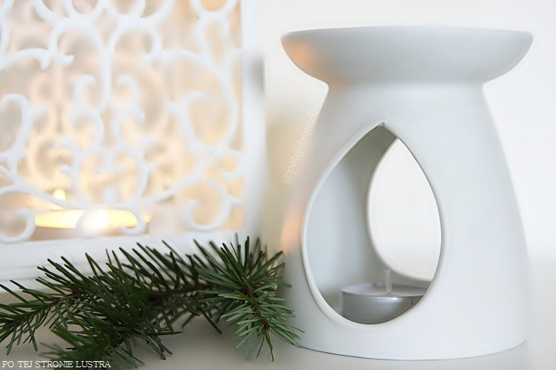 klasyczny biały kominek yankee candle