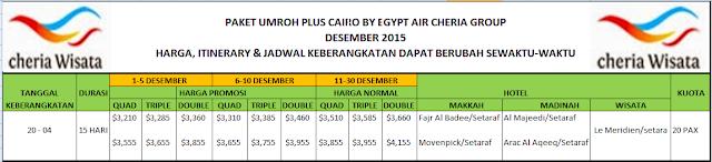 Agen Biro Perjalanan Tout Travel Umroh Plus Cairo, pendaftaran umroh bisa menghubungi nomor telepon cheria wisata