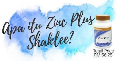 Apa itu Zinc Plus Shaklee?