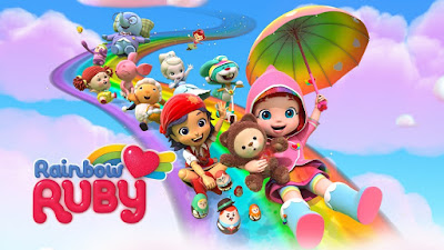 Rainbow Ruby kartun RTV bahasa Indonesia