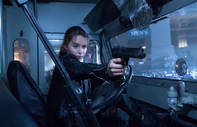 Emilia Clarke as Sarah Connor, in Terminator Genisys, Directed by Alan Taylor