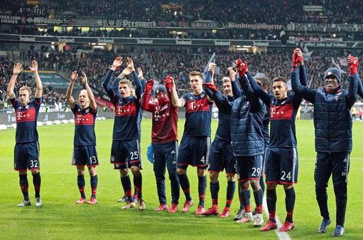 Frankfurt 0-1 Bayern: Hùm xám vô địch lượt đi