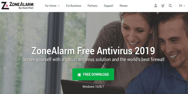 ZoneAlarm, Antivirus Gratis dan Terbaik untuk PC Windows atau Mac