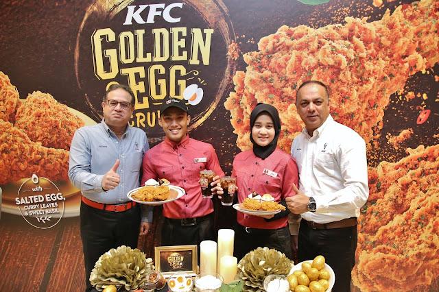 KFC PERKENAL HIDANGAN 'GOLDEN EGG CRUNCH'