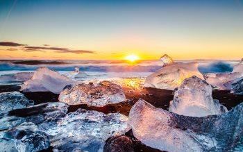 Wallpaper: Ice 4K Natural Beauties