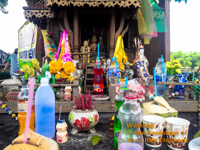 Spirit houses in Thailand