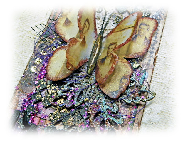 Vintage Style Tag created by Lisa Novogrodski for the Scraps of Darkness Online Store