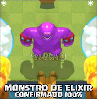 Elixir monster Clash Royale