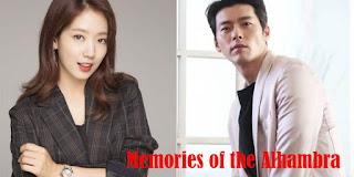 nama asli biodata pemain dan Sinopsis Memories of the Alhambra drama korea