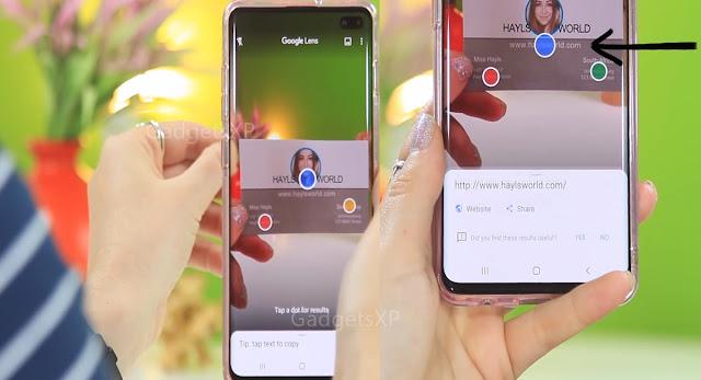 Google lens quick contact