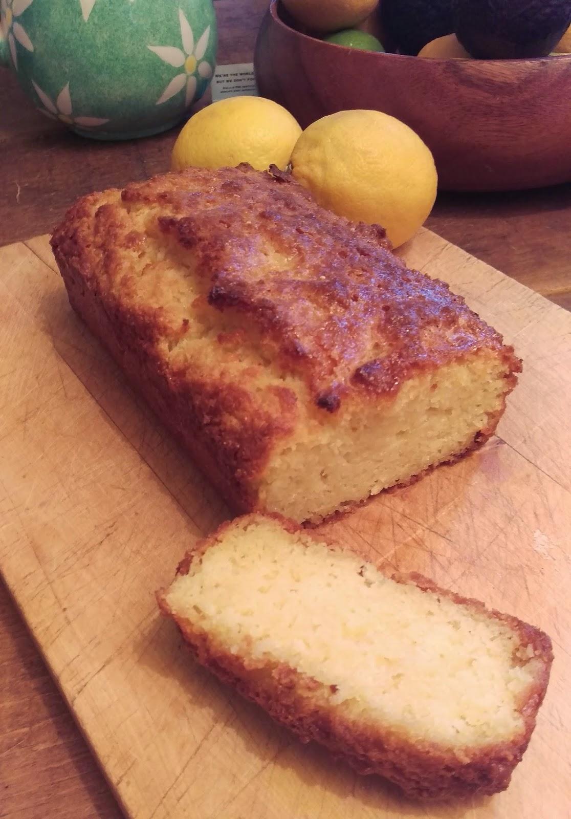 Diabetic Lemon Drizzle Cake Recipe