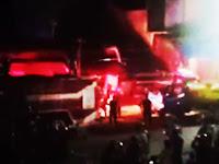 Kios di Pasar Pangkajene Terbakar, Untung Pemadam Kebakaran Pangkep Taklukkan Api