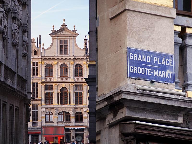 Grand Place/ Groote Markt in Brüssel, Belgien