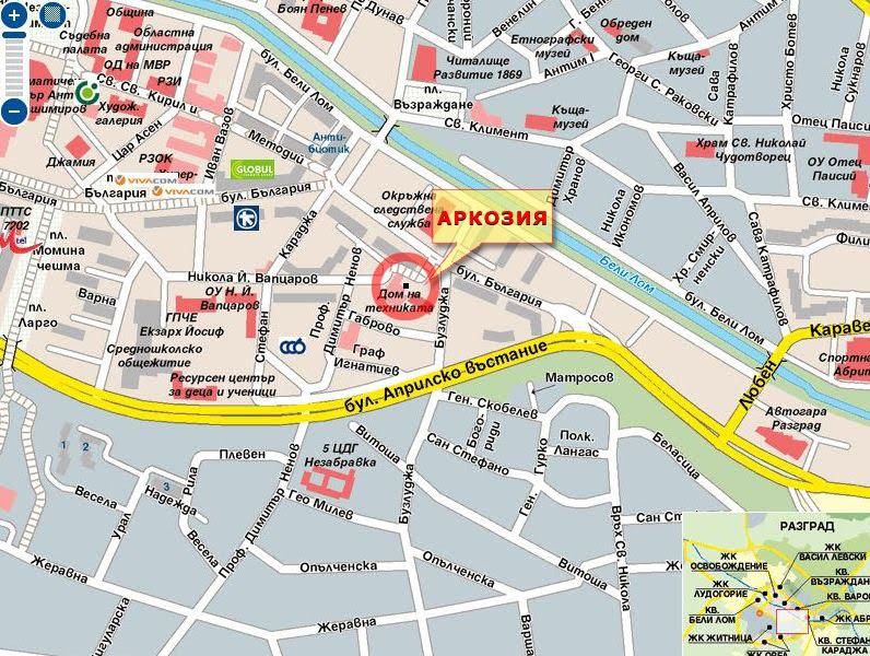 Dnes Pokazvame Podrobna Karta Na Ulicite I Rajona V Kojto Se