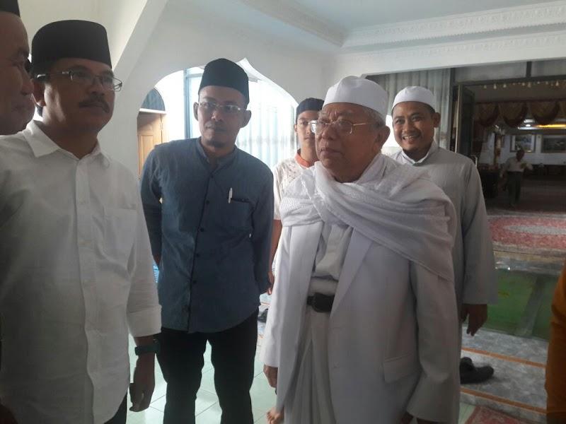 KH. Ma'ruf Amin: Selain Masalah Keumatan NU juga Bertanggung Jawab Masalah Kebangsaan-Kenegaraan