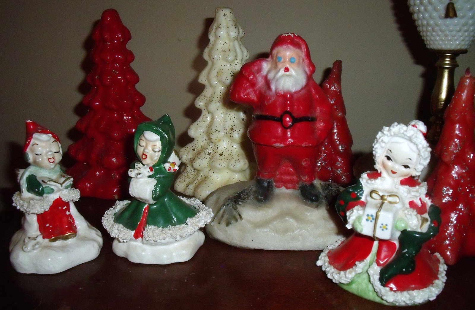 Eventually Vintage 1950 S Christmas Decorations