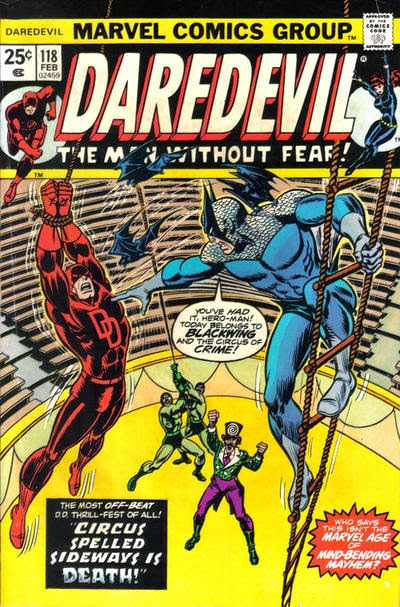 Daredevil #118, Blackwing