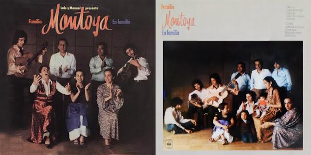 Segundo disco de la Familia Montoya. Antonia La Negra, Carmen Montoya, Carmelilla, Juan Montolya, El Morito, Lole y Manuel, Raimundo Amador, Niño Jero