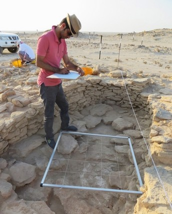 Abu Dhabi archaeologists unearth rare, well-preserved Stone Age house