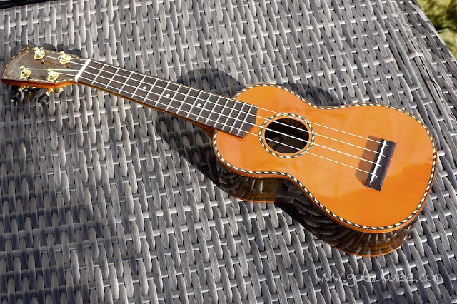Mainland Red Cedar Gloss Soprano Ukulele