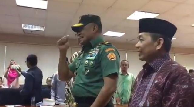 Video Pernyataan Panglima TNI Soal 5 Ribu Pucuk Senjata Saat di Acara Fraksi PKS