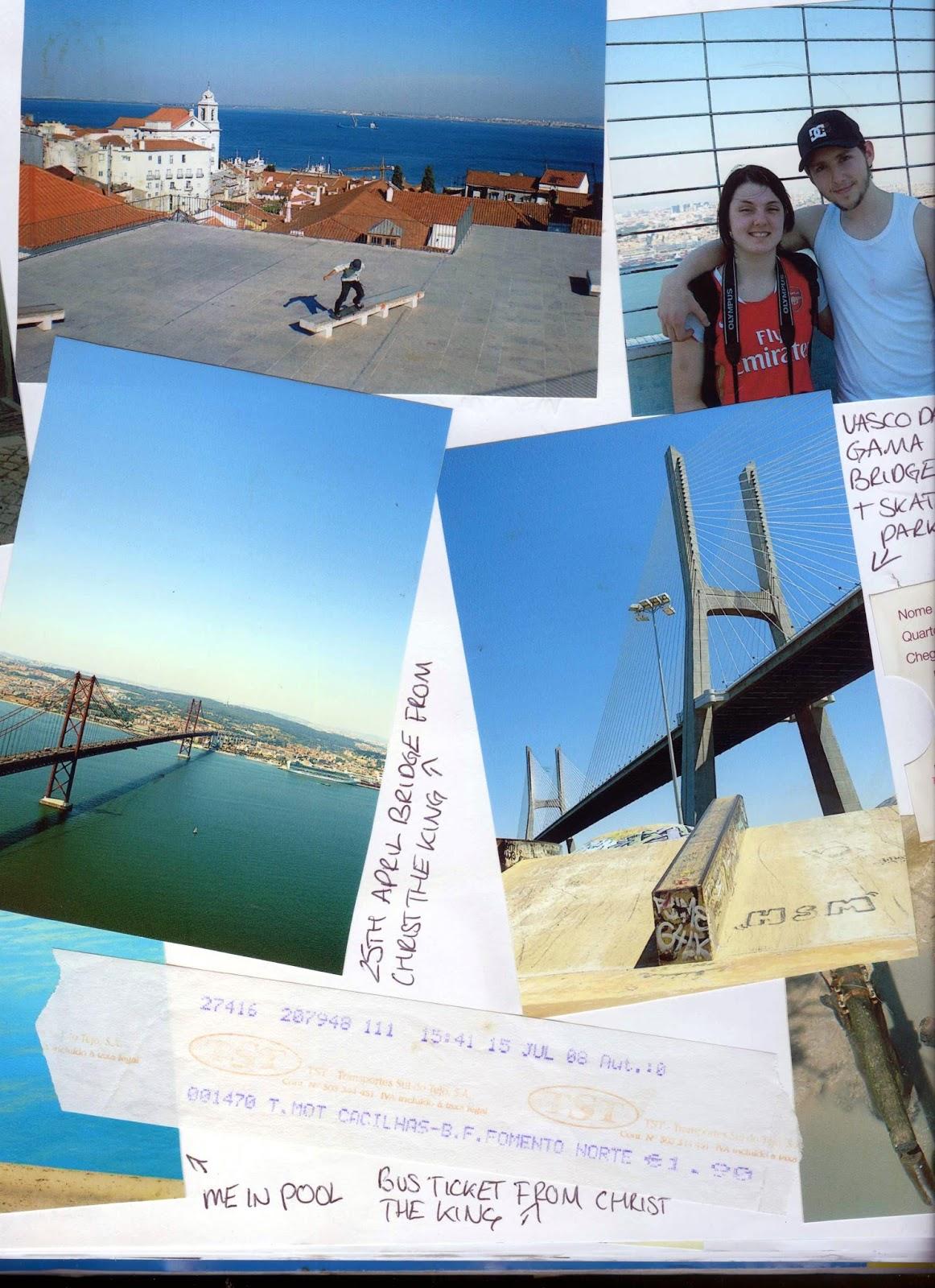Lisbon, Lisboa, portugal, views, vasco da gama, vasco da gama bridge, vasco da gama tower, cable car, statue of christ, christ the king, travel, travel blog, top 10 lisbon, to do in lisbon, things to do, scrapbook, travel blog, travel tips, the roaming renegades, paul short, nicola hilditch-short, chriso Rei, almada, 25th April bridge, 25 de Abril Bridge, Estradio da Luz, Stadium of Light, Benfica, Santa Justa Elevator, St George's castle, Sao Jorge castle, Miradouros, São Pedro de Alcantara: Elevador da Glória or walk up from Chiado. Portas do Sol: Walk up from Baixa or tram 28. Miradouro da Graça: Walk up from Alfama or tram 28. Miradouro de Santa Luzia:, Alfama, Arco da Rua Augusta, Baixa, Cascais