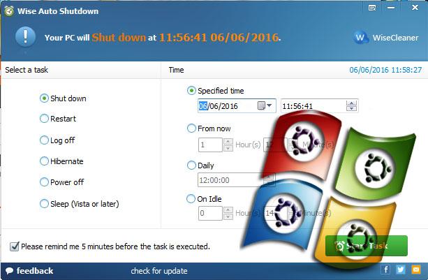 Download Wise Auto Shut Down PC / Laptop Terbaru Full Version
