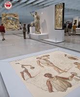 Obras de la Galería del Tiempo en el Museo Louvre-Lens