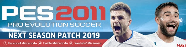 PES 2011 Next Season Patch 2019 ~ Livetoda Fullest