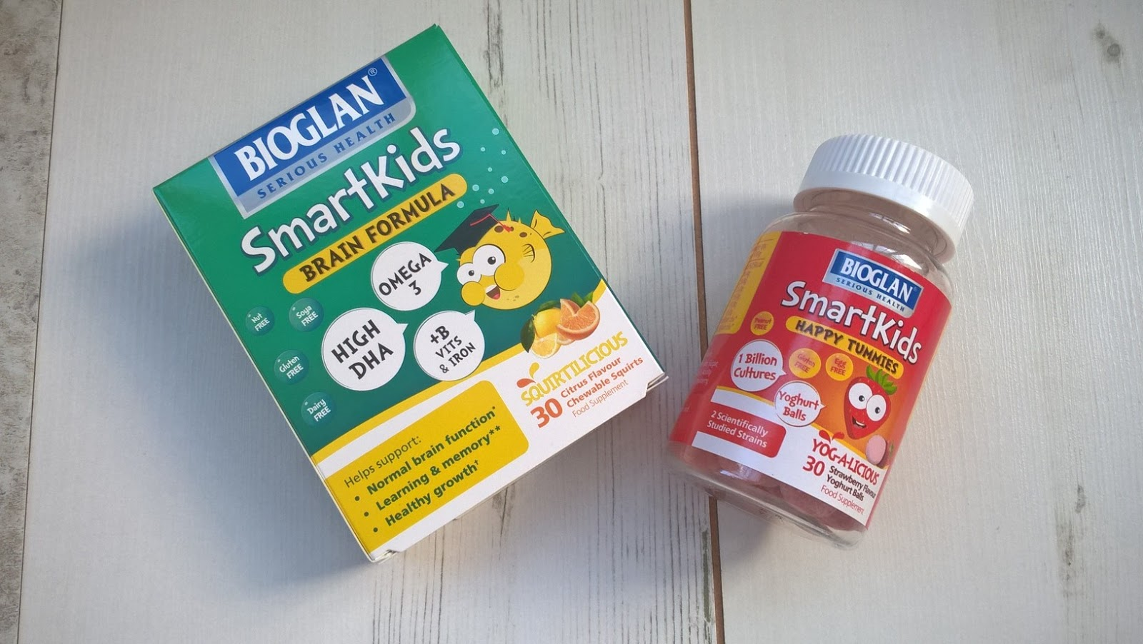 Bioglan SmartKids Brain Formula and Happy Tummies