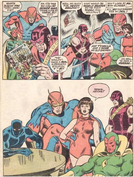 John Buscema Avengers